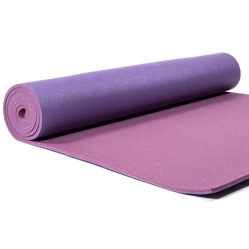 tapis yoga violet pratique